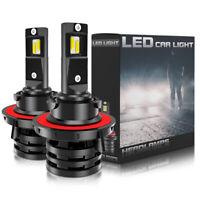 KIT AMPOULES LED H13 Hi/Lo 200W BLANC PUR AUTO MOTO 30000 LUMENS FEU SUPER BLANC