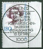 Bund Frauen Nr. 1427 Formnummer 2 Eckrand gestempelt Vollstempel ESST Berlin 12