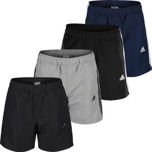 Adidas Mens Shorts Chelsea 3 Stripes Gym Sports Running Short Pockets Climalite