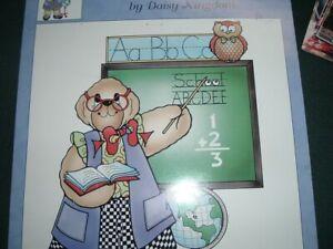 Vtg 90s Daisy Kingdom Iron On Transfer For T-Shirt Favorite Teacher CUTE #LK5