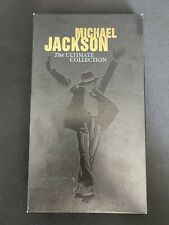 """COFFRET COLLECTOR MICHAEL JACKSON """"THE ULTIMATE COLLECTION"""" - 4 CD + 1 DVD"""