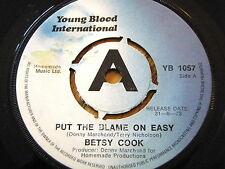 """BETSY COOK - PUT THE BLAME ON EASY  7"""" VINYL PROMO"""