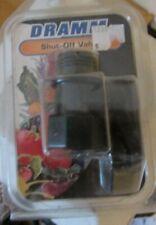 Dramm 12365 Shut-Off Valve Black,new