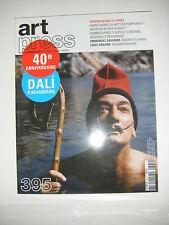 Art Press N°395 Emmanuel Saulnier Masaki Fujihata Louis Aragon Rushdie Dali