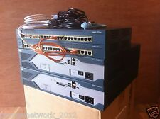 CISCO CCENT CCNA CCNP R&S VOICE SECURITY ADD ON LAB  2x 2851 IOS 15.1 T  2x 2950