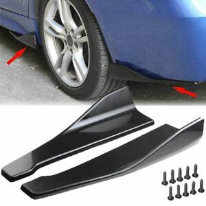 48cm Car Bumper Spoiler Rear Lip Diffuser Spoiler Protector Universal Side Skirt