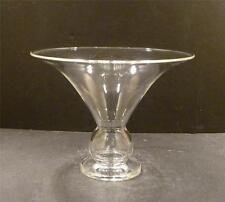 """Steuben Crystal Vase Designed By Sydney Waugh - 4 3/4"""""""