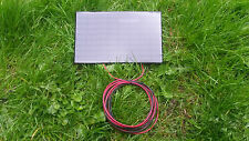 3.5 WATT RESIN SOLAR PANEL,3M CABLE CHARGES 12V ELECTRIC FENCE ENERGISER BATTERY