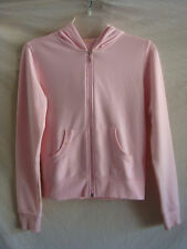AUTH FOREVER 21 LONG-SLEEVE HOODED CARDIGAN SWEATER PREOWNED PINK SZ S