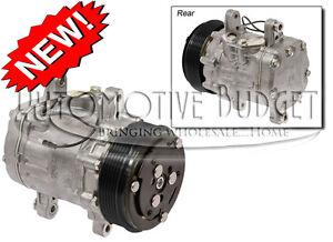A/C Compressor w/Clutch for Sanden 7176 - 6GR SD7B10 Swing Mount - NEW
