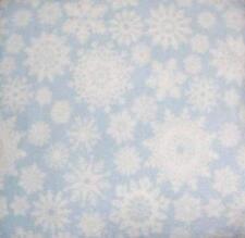 Queen - Sunbeam - Snowflake Glow Luxuriously Soft & Cozy Fleece Sheet Set