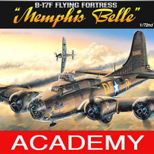 1/72 B-17F FLYING FORTRESS  MEMPHIS BELLE #12495 ACADEMY MODEL HOBBY KITS