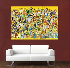 Simpsons 3 Huge Promo Poster T649
