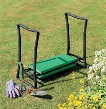 Garden Knee Pad and Stool Seat in One Unit Gardening Kneeling Comfort Chair Rest