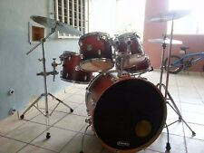 SONOR Drums  FORCE 2005 Full Birch.  5 drums, 3 Stands