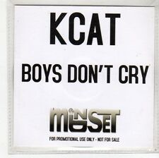 (FS389) Kcat, Boys Don't Cry - DJ CD