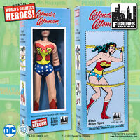 Official DC Comics Wonder Woman 8 inch Action Figure in Retro Box