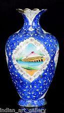 Genuine Antique Persian Flower Vase Rare Islamic Cloisonné Decoration. i14-8