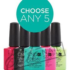 CND SHELLAC UV Color Coat 7.3ml - Choose Any 5 Colours