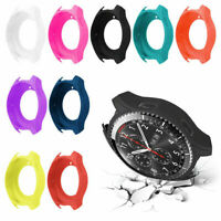 Silicone Watch Case Cover Protector Bumper Frame For Samsung Galaxy Watch 46mm W