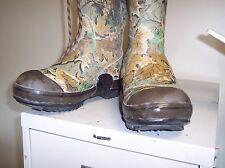RUBBER BOOTS FOR HUNTING SIZE 13W ROCKY STEEL SHANK