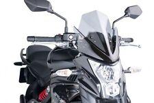 Puig Naked New Generation Windscreen 2012 Kawasaki ER-6N Clear / 5997W