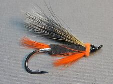 Orange Puppy Atlantic Salmon Flies - 6 Fly MULTI-PACK - Sizes 4, 6, 8