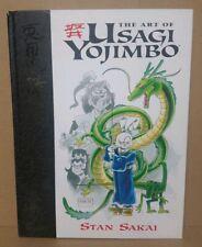 Art of Usagi Yojimbo (2004) Hardcover w Original Stan Sakai Drawing Dark Horse