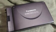 Panasonic Radio Cassette Corder Rq-Sx2V with battery adapter