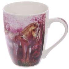 (Pair Of)China Pink Unicorn Mugs