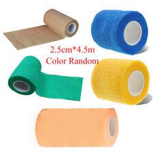 Health Care Aid First Treatment Self-Adhesive Elastic Gauze Bandage Tape New