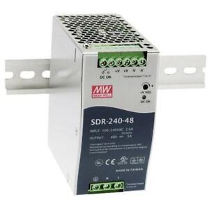 MeanWell SDR-240-48 240W 48V 5A Din Rail power supply DIN-RAIL