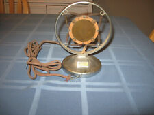 Vintage 1930's Universal Spring Microphone Stand / Dictograph Microphone