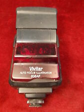 NICE OLD VTG VIVITAR AUTO FOCUS ILLUMINATOR 636AF CAMERA FLASH, FULLY WORKING