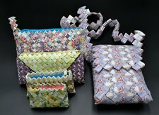Venezuela Bolivares Sample Collection of Handbags Made by Venezuelans Cool Color