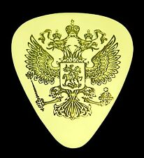 Russian Double-Headed Eagle - Solid Brass Guitar Pick, Acoustic, Electric, Bass