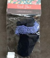 Good Hart Matilda Jane Navy Blue Washy Socks Lace XXS 0 3 6 Months Baby Girl New