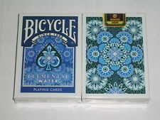 1 deck BICYCLE ELEMENTAL WATER Playing Cards-S102729-丙E6