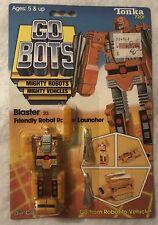 Tonka GoBots Blaster 23 Friendly Robot Rocket Launcher