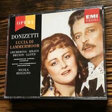 Rescigno / Donizetti: Lucia Di Lammermoor - Edita Gruberova; Alfredo Kraus; Re..