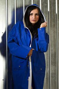 Riesiger Jeantex Friesennerz Regenmantel - XL - wie neu - Blau