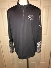 NIKE New York Jets Fly Rush 2.0 Platinum Football Golf Jacket Mens 2XL 597639