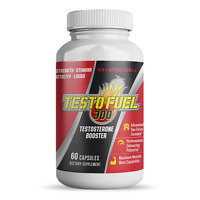 Test Booster for Men Testofuel 300 Male Enhancement Complex + Muscle Gain