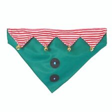 Rosewood Party On Light Up Festive Christmas Elf Bandana Fun Cute Costume Dog