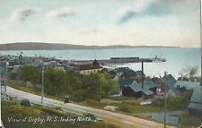 Postcard Nova Scotia View Digby Looking North Unused Private Post Card c1907-15