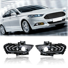 LED Daytime Running Light DRL Fog/Drving Lamps For Ford Mondeo Fusion 2013-2016