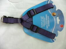"Purple Adjustable Dog Harness Size Large Fits Dogs Chest 18"" To 24"""