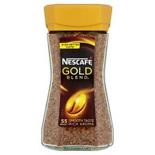 Nescafe Gold Blend Instant Coffee - 100g - Pack of 2 (100g x 2) (3.53 oz x 2)