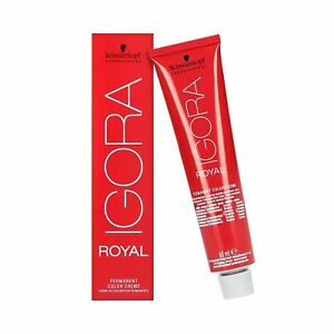 SCHWARZKOPF PROFESSIONAL IGORA ROYAL Coloration 60ml