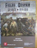 Fields of Despair France 1914-1918 Board Game GMT Games